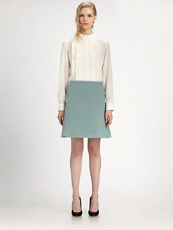 Chloe - Silk Ruffle Blouse