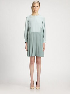 Chloe - Cady Plissé Dress