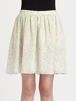 Chloe - Tweed Mini Skirt