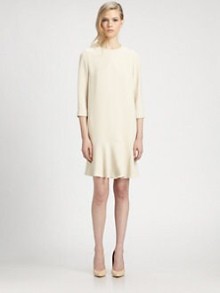 Chloe - Crepe Flare Dress
