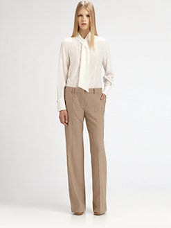 Chloe - Silk Neck Tie Blouse