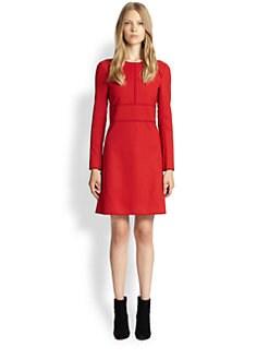 Chloe - Wool A-Line Dress