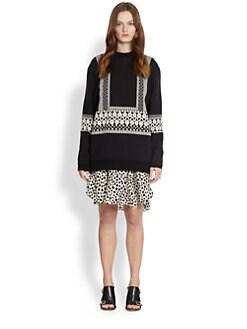 Chloe - Wool Knit Jacquard Sweater