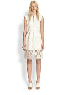 Chloe - Lace Overlay Tennis Dress