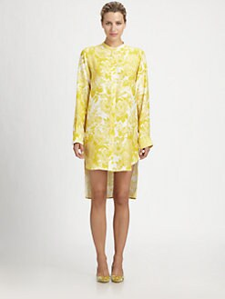 Stella McCartney - Silk Floral Shirtdress