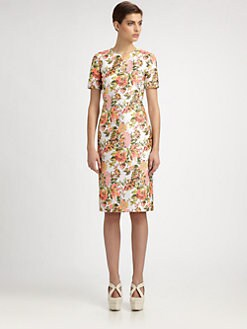 Stella McCartney - Floral Jacquard Dress