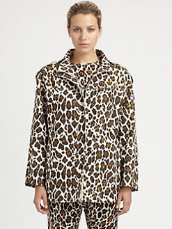Stella McCartney - Leopard Print Jacket