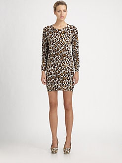 Stella McCartney - Printed Wool Dress