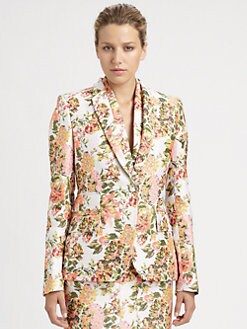 Stella McCartney - Floral Jacquard Jacket