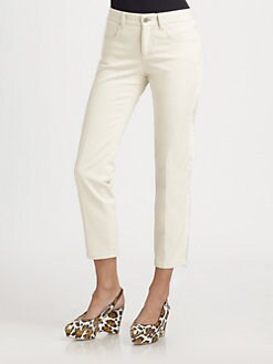 Stella McCartney - Fringe-Trimmed Jeans