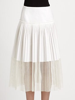 Stella McCartney - Pleated Skirt
