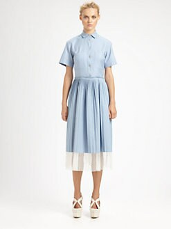 Stella McCartney - Pleated Shirtdress