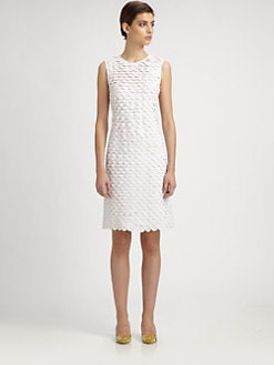 Stella McCartney - Tiered Scallop Dress