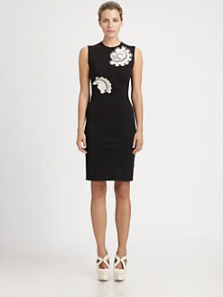 Stella McCartney - Lace Appliqu&eacute; Dress