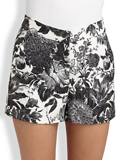 Stella McCartney - Floral Print Shorts