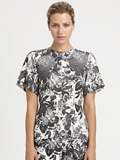Stella McCartney - Silk Floral Top