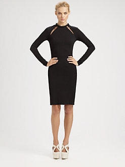 Stella McCartney - Compact Jersey Cutout Dress