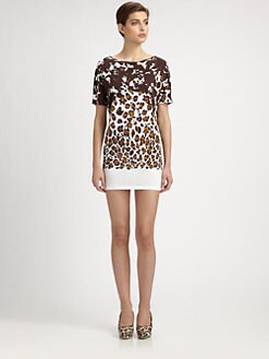 Stella McCartney - Organic Cotton Leopard Dress