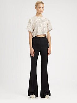 Stella McCartney - Pearl-Embroidered Top