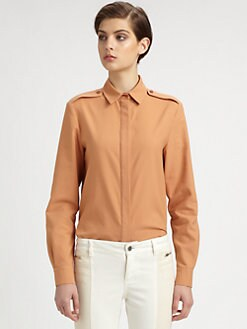 Stella McCartney - Button-Front Blouse