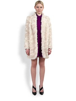 Stella McCartney - Furry Mohair Coat