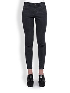 Stella McCartney - Pinstripe Denim Jeans