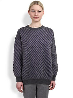 Stella McCartney - Textured Colorblock Sweater