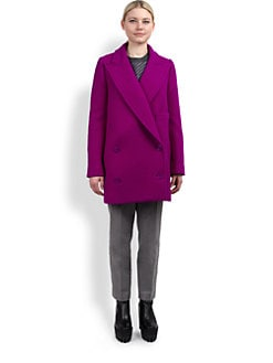 Stella McCartney - Double-Breasted Wool Coat