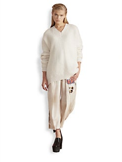 Stella McCartney - Oversized V-Neck Sweater