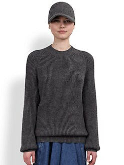 Stella McCartney - Oversized Wool & Cashmere Sweater