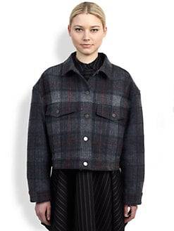 Stella McCartney - Plaid Denim Jacket