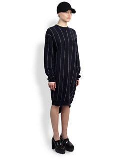 Stella McCartney - Pinstripe Sweater Dress