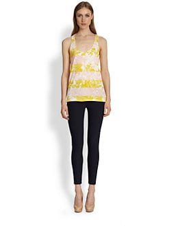 Stella McCartney - Horizontal-Stripe Tank Top