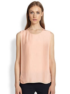 Stella McCartney - Sleeveless Double-Layer Blouse