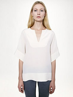 Stella McCartney - Silk Crepe De Chine Top