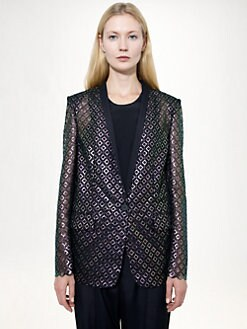Stella McCartney - Embroidered Iridescent Jacket
