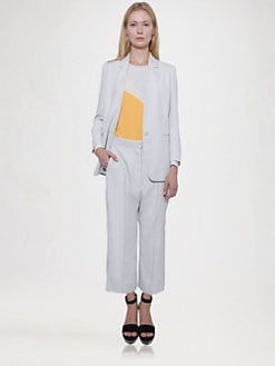 Stella McCartney - Fluid Trompe L'Oeil Jacket