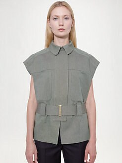 Stella McCartney - Tweed Utility Vest