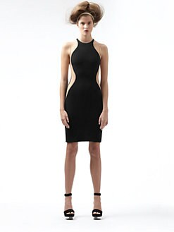 Stella McCartney - Stretch Cady Illusion Dress