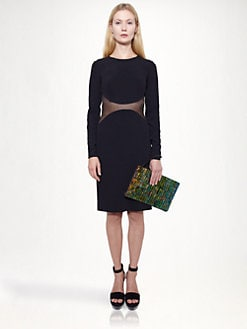 Stella McCartney - Mesh Inset Dress