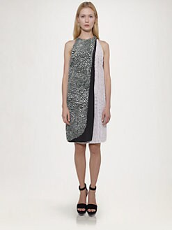Stella McCartney - Printed Silk Dress