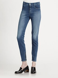 Stella McCartney - High-Rise Skinny Jeans