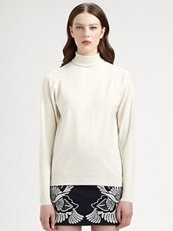 Stella McCartney - Silk Turtleneck Top