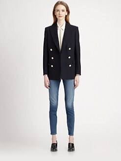 Stella McCartney - Double-Breasted Wool Blazer
