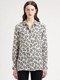 Stella McCartney - Silk Paisley-Print Blouse