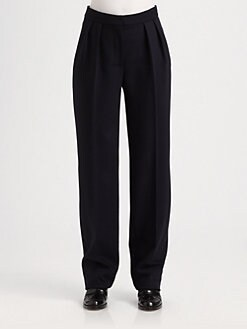 Stella McCartney - Wide-Leg Wool Pants