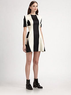 Stella McCartney - Contrasting Striped Dress