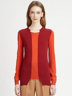 Stella McCartney - Wool & Silk Colorblock Sweater