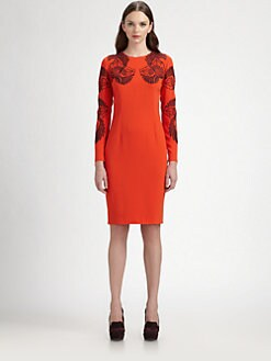 Stella McCartney - Embroidered Dress