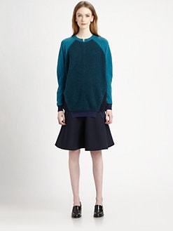 Stella McCartney - Colorblock Wool & Angora Sweater
